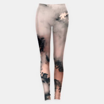 Thumbnail image of Pink Fluffy Clouds Leggings, Live Heroes