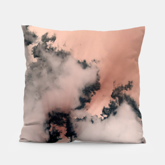 Thumbnail image of Pink Fluffy Clouds Pillow, Live Heroes