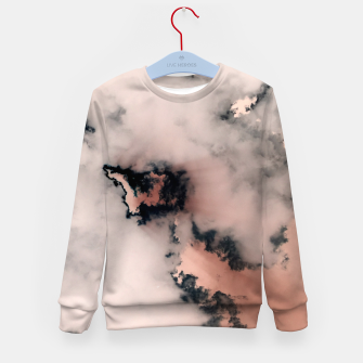 Thumbnail image of Pink Fluffy Clouds Kid's sweater, Live Heroes