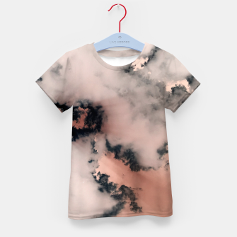 Thumbnail image of Pink Fluffy Clouds Kid's t-shirt, Live Heroes