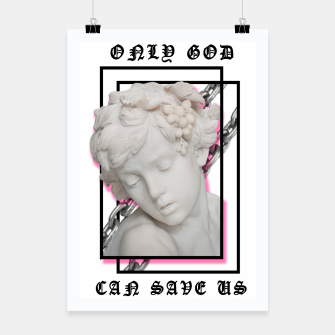 Miniaturka HOLY Brand: Only God Can Save Us Poster, Live Heroes