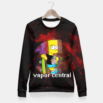 Miniaturka Bart Simpson cotton sweater, Live Heroes