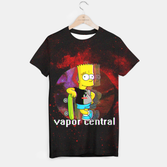 Thumbnail image of Bart Simpson T-shirt, Live Heroes