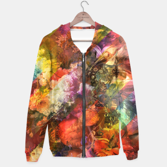 Imagen en miniatura de Collage LXII Cotton zip up hoodie, Live Heroes