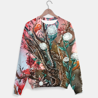 Thumbnail image of Tree of flowers  Cotton sweater, Live Heroes