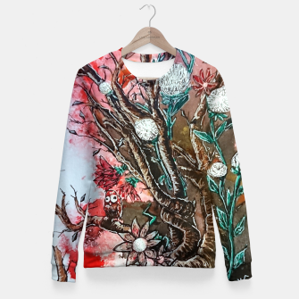Thumbnail image of Tree of flowers  Woman cotton sweater, Live Heroes