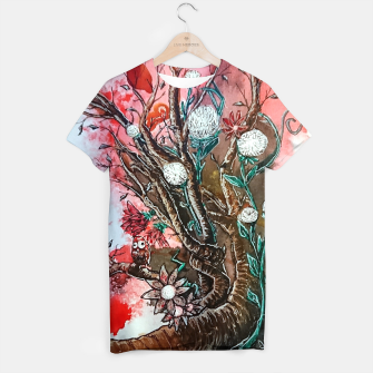 Thumbnail image of Tree of flowers  T-shirt, Live Heroes
