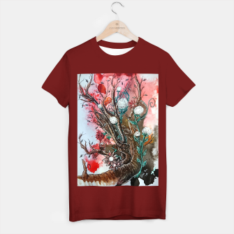 Thumbnail image of Tree of flowers  T-shirt regular, Live Heroes