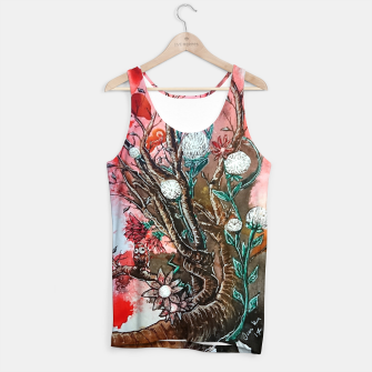 Thumbnail image of Tree of flowers  Tank Top, Live Heroes
