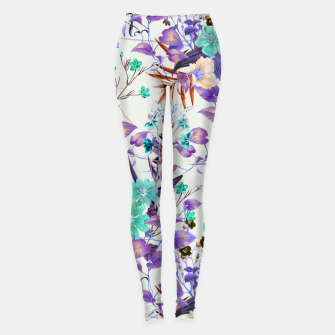 Miniatur Illuminated vibrant bloom Leggings, Live Heroes