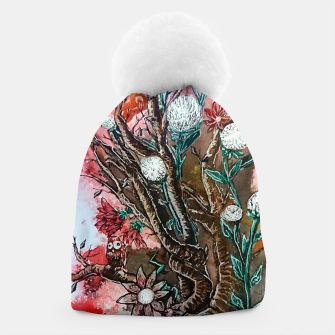 Thumbnail image of Tree of flowers  Beanie, Live Heroes