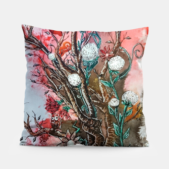 Thumbnail image of Tree of flowers  Pillow, Live Heroes