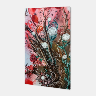 Thumbnail image of Tree of flowers  Canvas, Live Heroes