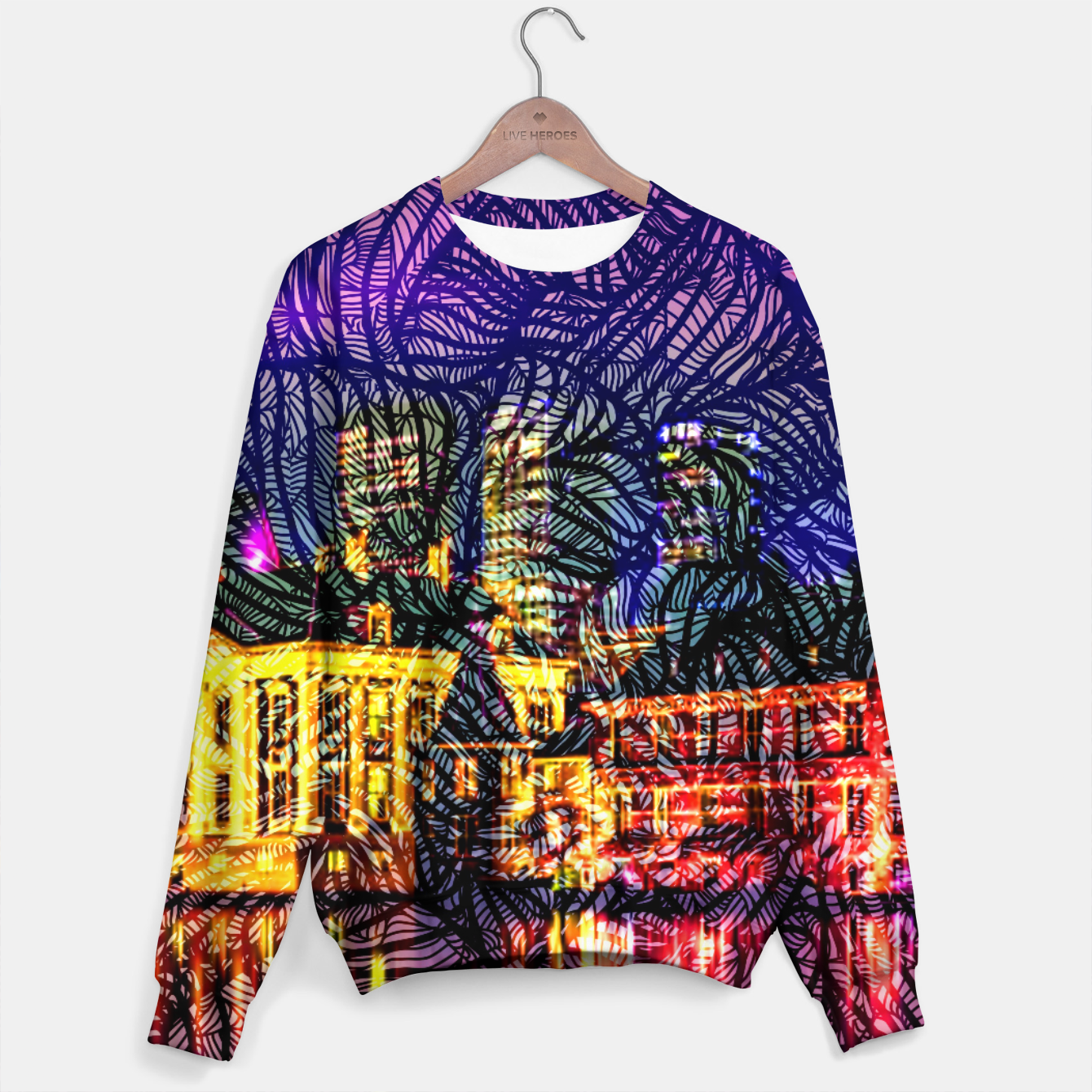 Image of HV Cotton sweater - Live Heroes