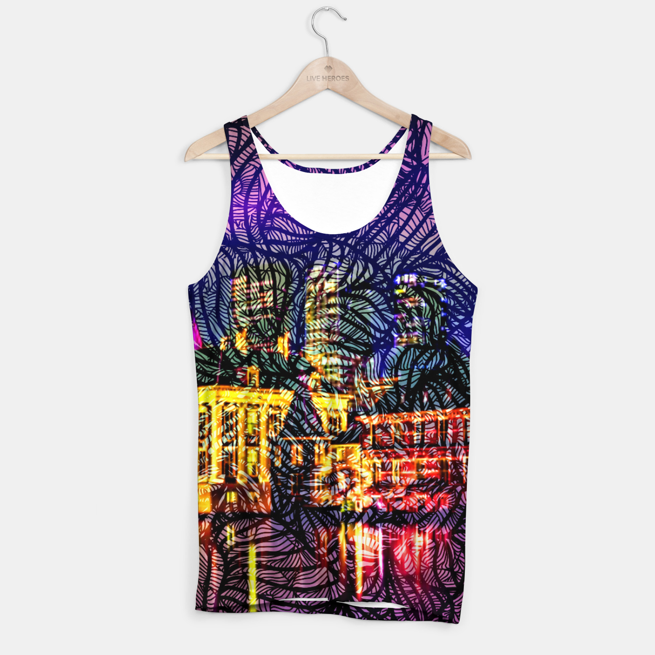 Image of HV Tank Top - Live Heroes