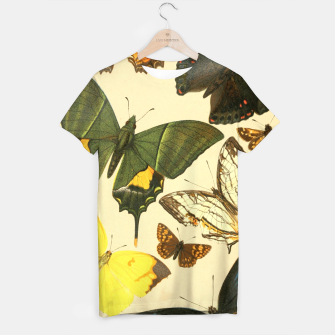 Thumbnail image of Royal Natural History 1893-1896 - Butterflies T-shirt, Live Heroes