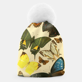 Thumbnail image of Royal Natural History 1893-1896 - Butterflies Beanie, Live Heroes
