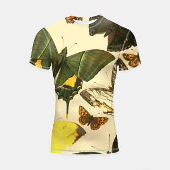Thumbnail image of Royal Natural History 1893-1896 - Butterflies Shortsleeve rashguard, Live Heroes