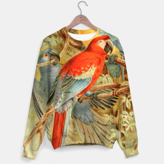 Thumbnail image of  Royal Natural History 1893-1896 - JCK (Macaws) Cotton sweater, Live Heroes