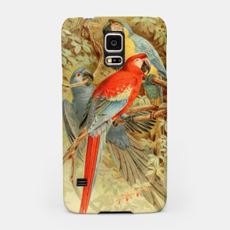 Thumbnail image of  Royal Natural History 1893-1896 - JCK (Macaws) Samsung Case, Live Heroes