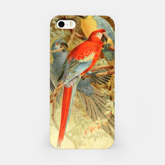 Thumbnail image of  Royal Natural History 1893-1896 - JCK (Macaws) iPhone Case, Live Heroes