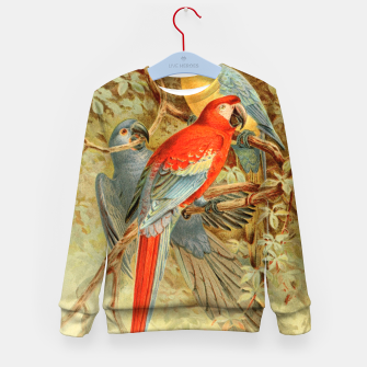 Thumbnail image of  Royal Natural History 1893-1896 - JCK (Macaws) Kid's sweater, Live Heroes