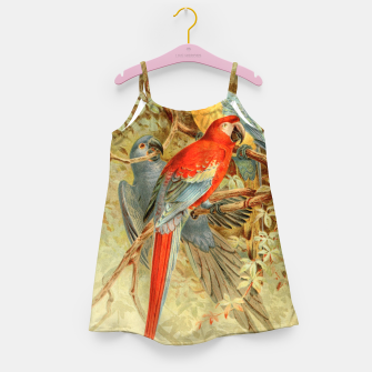 Thumbnail image of  Royal Natural History 1893-1896 - JCK (Macaws) Girl's dress, Live Heroes