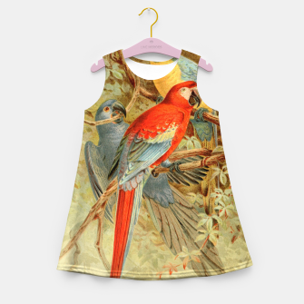 Thumbnail image of  Royal Natural History 1893-1896 - JCK (Macaws) Girl's summer dress, Live Heroes