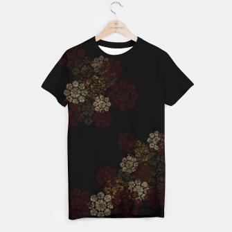 Thumbnail image of Japanese traditional emblem art cherry blossoms black T-shirt, Live Heroes