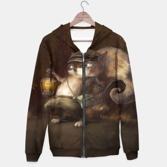 Thumbnail image of Little Squirrel Cotton zip up hoodie, Live Heroes