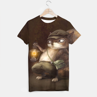 Thumbnail image of Little Squirrel T-shirt, Live Heroes