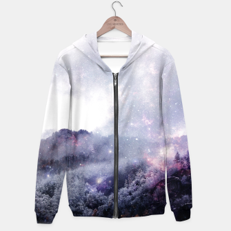 Thumbnail image of Wanderspace Cotton zip up hoodie, Live Heroes
