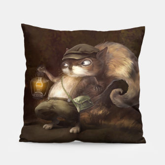 Thumbnail image of Little Squirrel Pillow, Live Heroes
