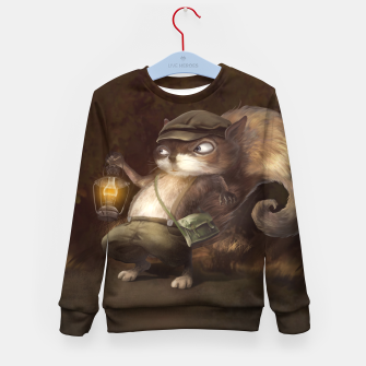 Thumbnail image of Little Squirrel Kid's sweater, Live Heroes