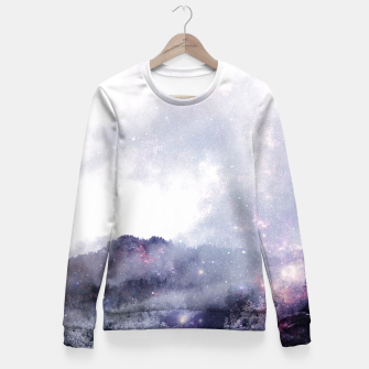 Thumbnail image of Wanderspace Woman cotton sweater, Live Heroes