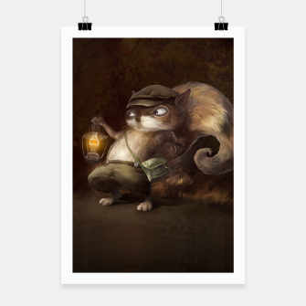 Thumbnail image of Little Squirrel Poster, Live Heroes