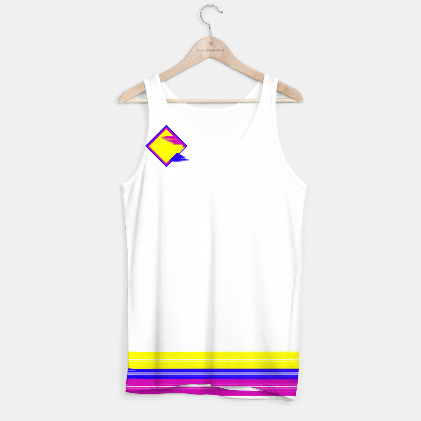Image of Logo tank top - Live Heroes