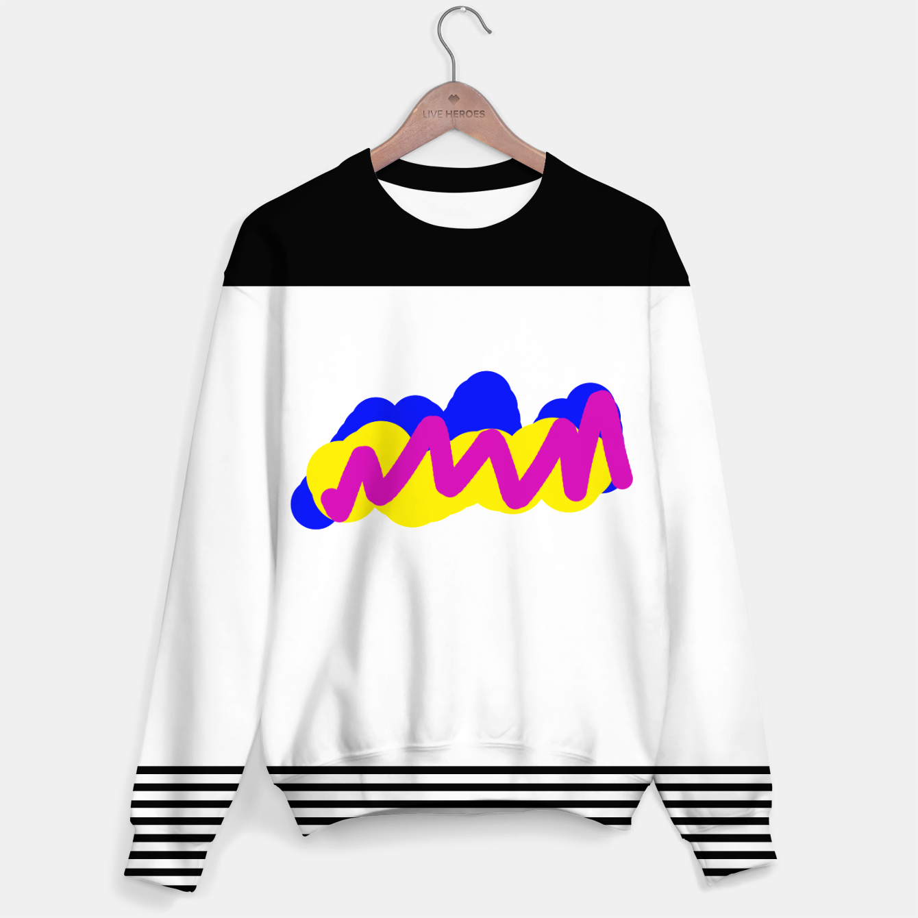 Image of Paint color sweater - Live Heroes