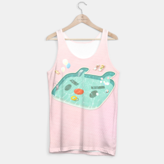 Thumbnail image of Poolday  Tank Top, Live Heroes