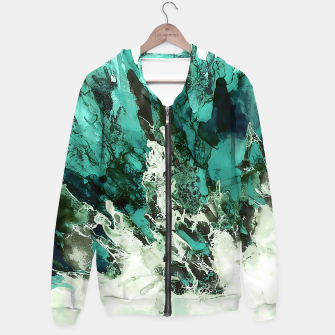 Thumbnail image of Crystal Fantasy Cotton zip up hoodie, Live Heroes