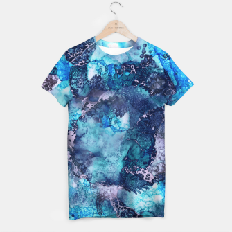 Imagen en miniatura de Abstract Painting T-shirt, Live Heroes