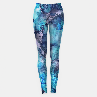 Imagen en miniatura de Abstract Painting Leggings, Live Heroes