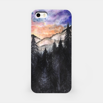 Miniatur Evening Mountains2 iPhone Case, Live Heroes