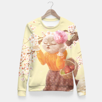 Thumbnail image of Diva Woman cotton sweater, Live Heroes