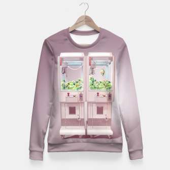 Thumbnail image of Claw Machine Woman cotton sweater, Live Heroes