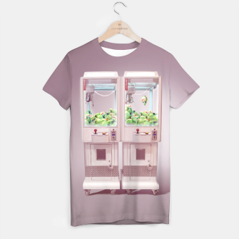 Thumbnail image of Claw Machine T-shirt, Live Heroes