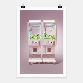 Thumbnail image of Claw Machine Poster, Live Heroes