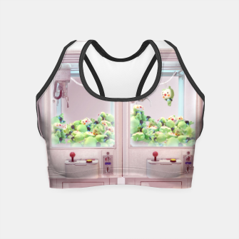 Thumbnail image of Claw Machine Crop Top, Live Heroes
