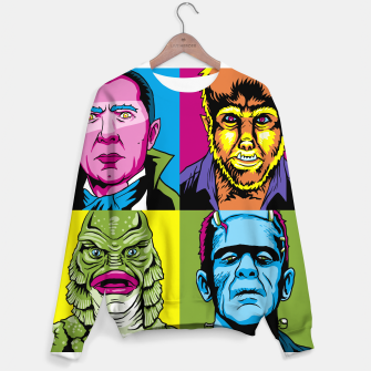 Thumbnail image of Pop Monsters  Sudadera de algodón, Live Heroes