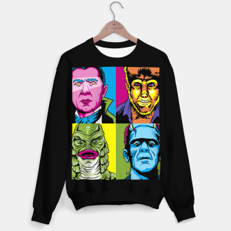 Thumbnail image of Pop Monsters  Sudadera regular, Live Heroes